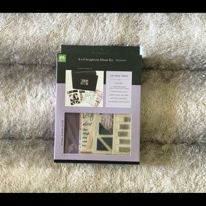 6X6 Scrapbook Album Kit - Friends